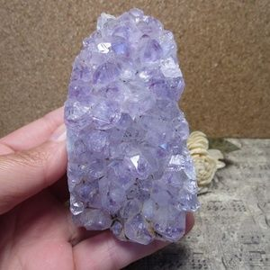 Brazil Amethyst Cluster w/cut base (#13) Gemstone